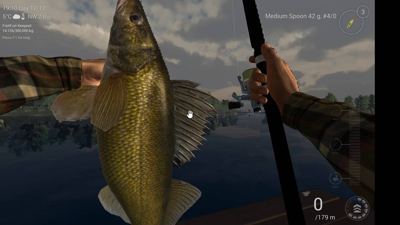 Fishing Planet,How To Catch A Unique Walleye In Michigan Guide