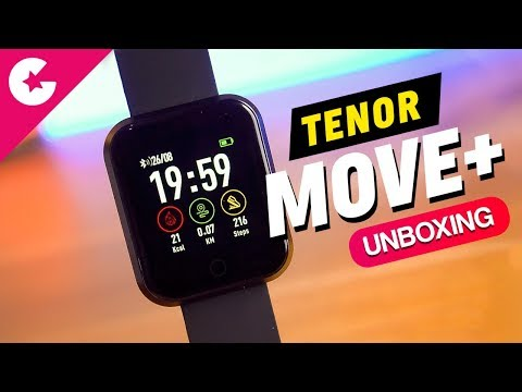 Tenor (10.or) Move Plus Fitness Smartwatch - Unboxing & Overview!