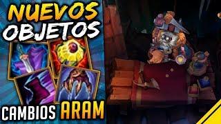 NUEVOS ITEMS para un NUEVO ARAM | Noticias League Of Legends LoL