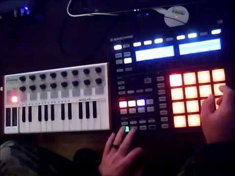"Maschine Arturia Minilab ""Things in C Minor Improv"" by joshua"