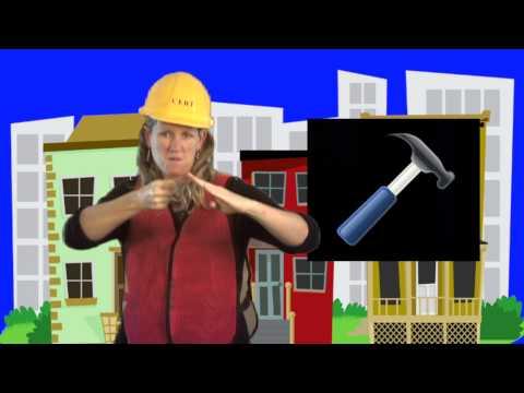 ASL Location Rhyme: Tools