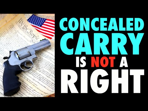Concealed Carry is NOT a Right! (9th Circuit Court Ruling)