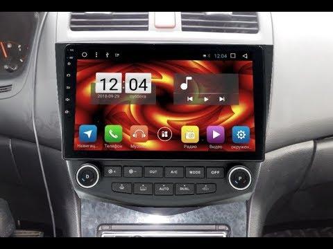 Штатная магнитола Honda Accord 7 (2003-2007) Android HA-1406