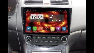 Штатная магнитола Honda Accord 7 2003 2007 Android HA 1406