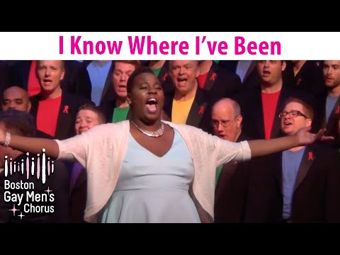 I Know Where I've Been - Alex Newell and Boston Gay Men's Chorus