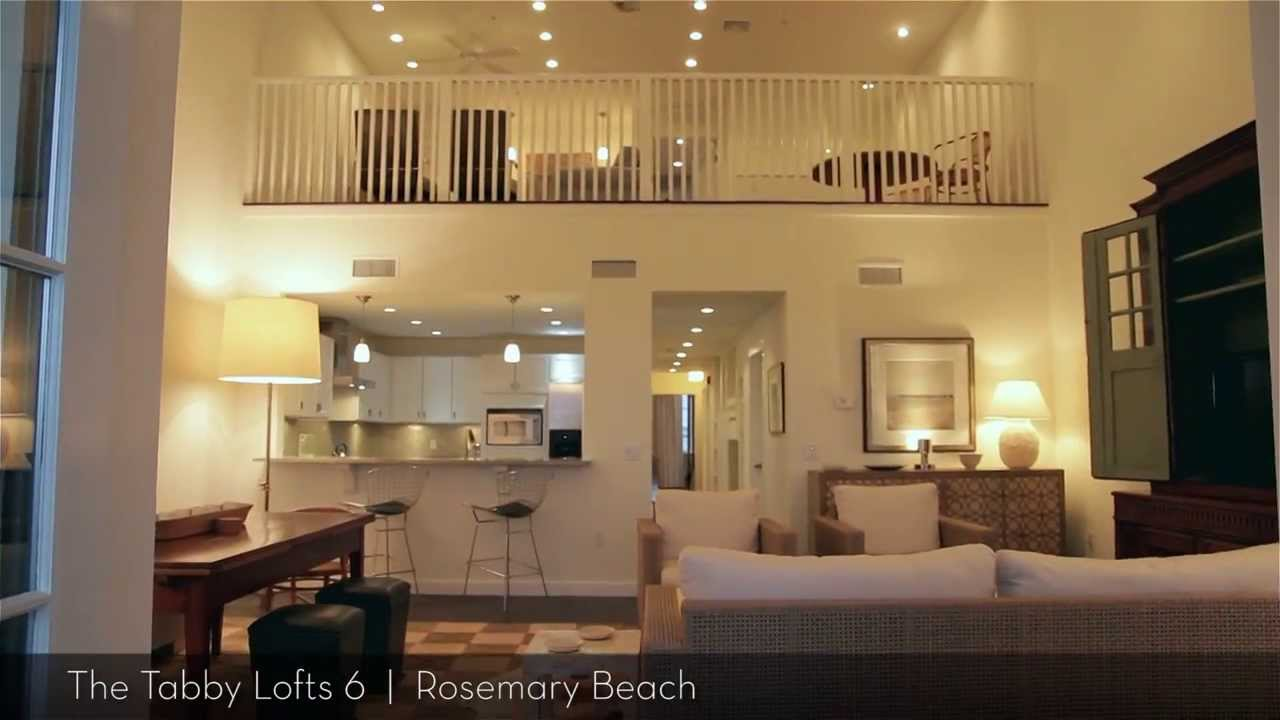Rosemary beach the tabby lofts exclusive luxury 3 for Two story bedroom
