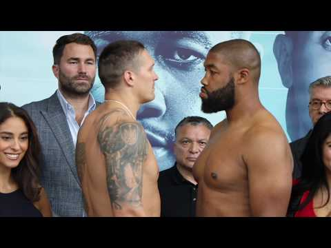 I AM FEEL HEAVYWEIGHT! - OLEKSANDR USYK V CHAZZ WITHERSPOON - OFFICIAL WEIGH-IN (CHICAGO)