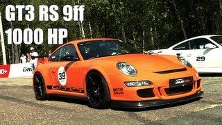Porsche GT3 RS 9ff VS: Porsche 911 Evotech; GT-R EcuTek; GT-R AMS