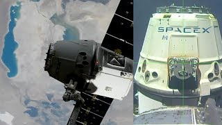 SpaceX Dragon CRS-11 departure highlights