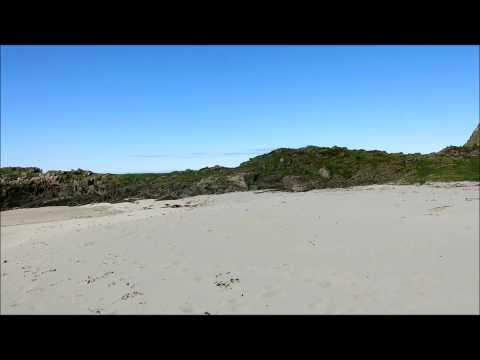 Travel Video Arctic Beach  Vesterålen islands  Norway   south of Andenes