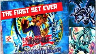 BEST YUGIOH LEGEND OF BLUE EYES WHITE DRAGON BOOSTER BOX OPENING VINTAGE 2002