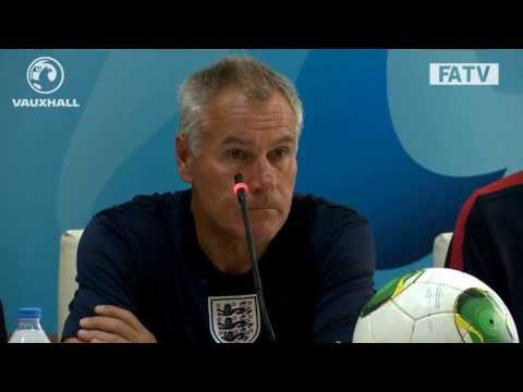 Peter Taylor press conference England U20s vs Chile at the World Cup