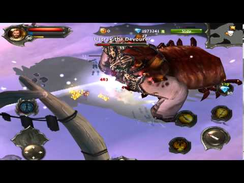 Dungeon Hunter 4 - Ustrak The Devourer  - Boss  Gameplay [HD]