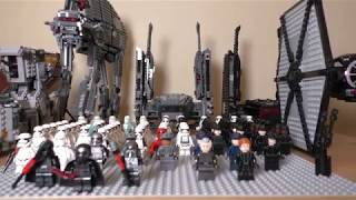 Ma Collection Lego Star Wars - FIRST ORDER ARMY