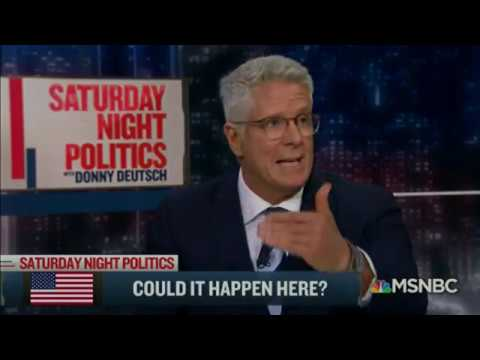 Nazi Germany fascism can/is happening here - Donny Deutsch and his panel discuss