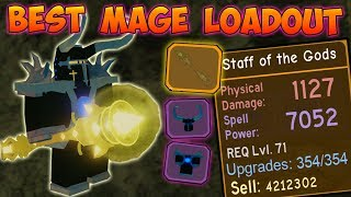 THE *BEST* POSSIBLE MAGE LOADOUT!!! 320,000 dmg/sec! - ✨Roblox Dungeon Quest
