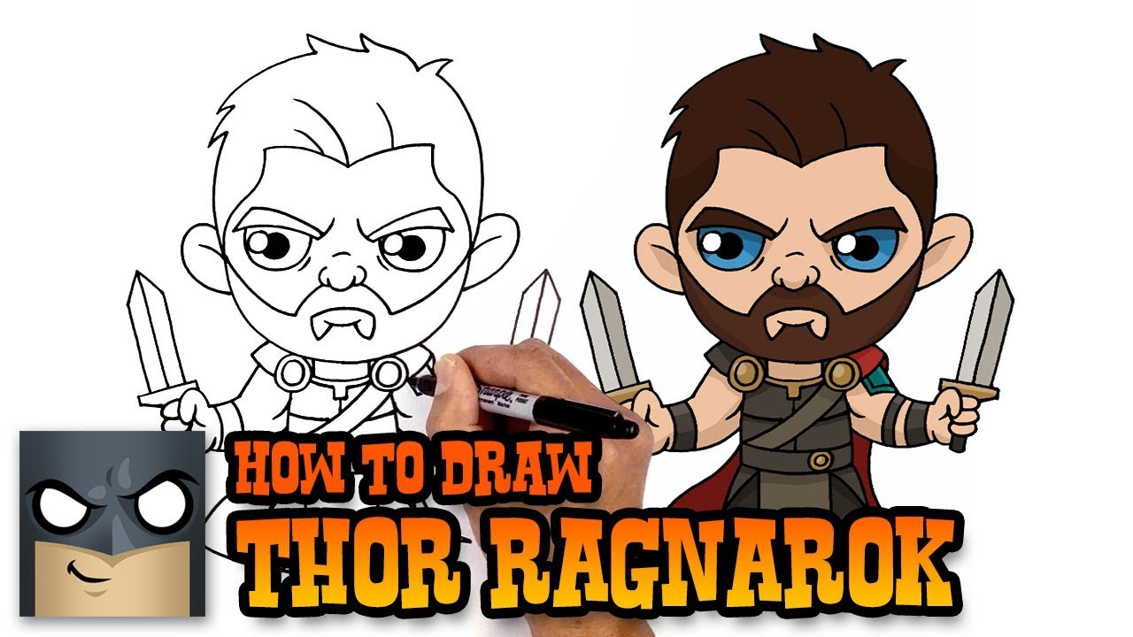 How to Draw Thor | The Avengers - YouTube