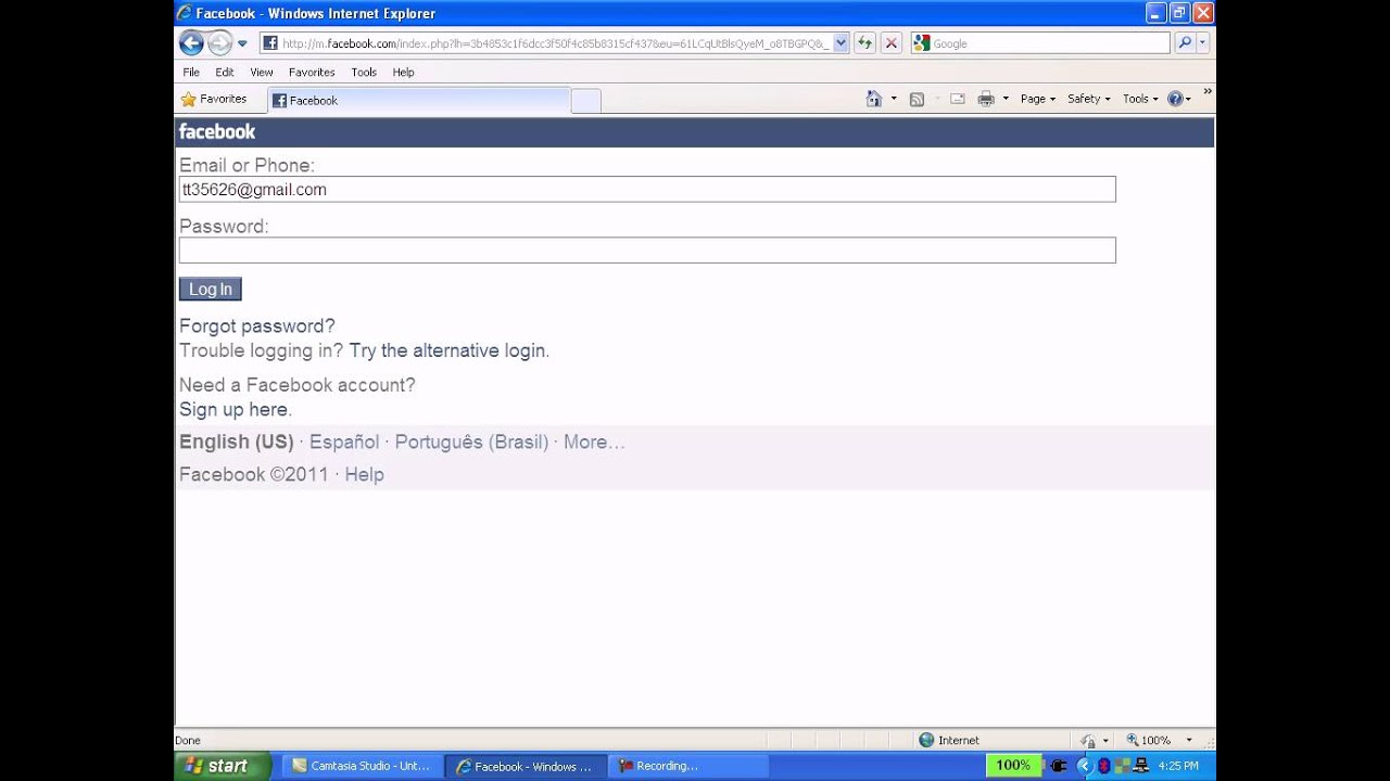 Trouble with facebook account - Login Redirect Ie Hack In Facebook Mobile App