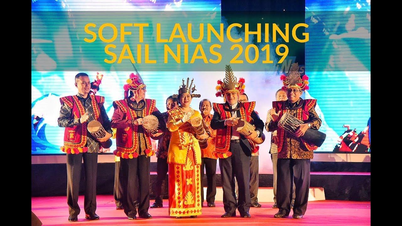Peluncuran Sail Nias 2019 | Sumber: YouTube