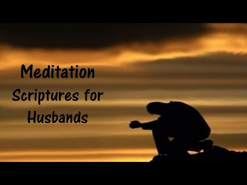 Bible verses for HUSBANDS - Meditation scriptures for husbands