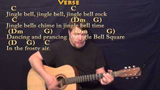 Jingle Bell Rock - Strum Guitar Cover Lesson in C with Chords/Lyrics