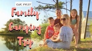 Family Camping Roadtrip : Massey's Landing, Delaware
