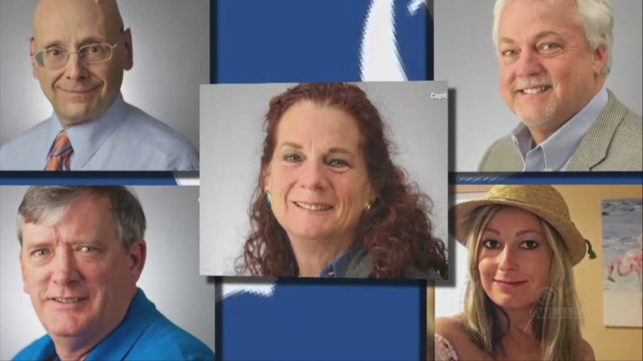 capital gazette shooting victims - 1280×720