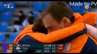 Ireen Wüst Winnaar van Goud en Zilver  op de Olympische spelen 2018