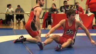 2016 Brock Open FS57kg Sam Jagas (Brock) vs Josh Brohman (Guelph)