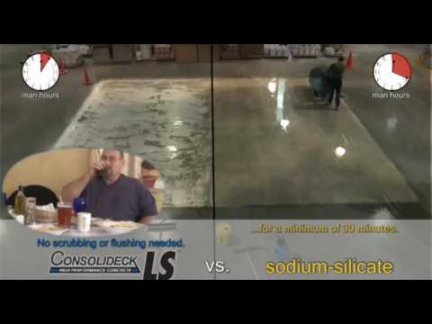 Silicate Showdown Vs  Consolideck® LS® Lithium Silicate