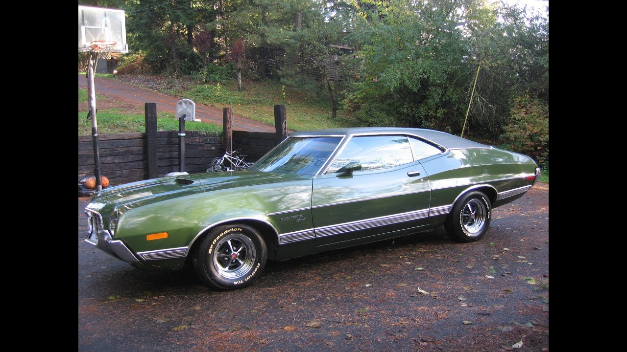 1972 gran torino sport fastback 53k orig miles for sale on ebay youtube - Ford Gran Torino Fastback