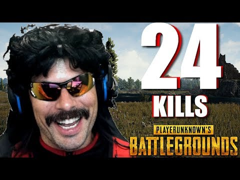 """Doc's """"24-KiII Duo Game"""" on PUBG with Shroud!"""