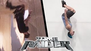 Stunts From Tomb Raider Movie In Real Life (Lara Croft Parkour)
