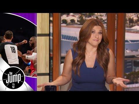 Rachel Nichols recaps Lakers vs Rockets brawl featuring CP3, Rondo, Ingram & more  The Jump