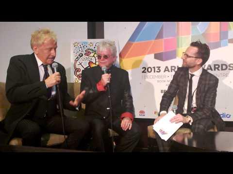 Air Supply- Press Conference ARIA Awards 2013