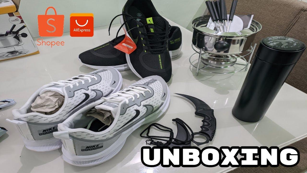 UNBOXING 5 PRODUTOS - COMPREI NO ALIEXPRESS E SHOPEE