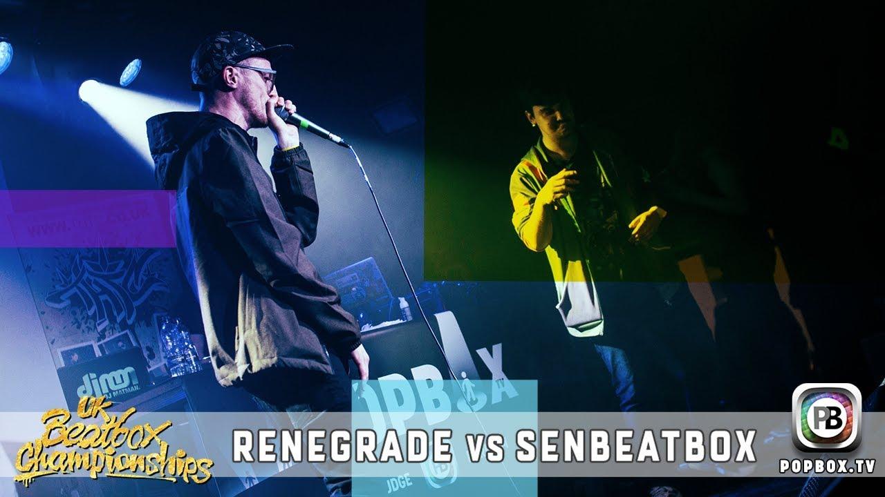 Renegrade vs SenBeatbox   Solo Top 16   2017 UK Beatbox Championships