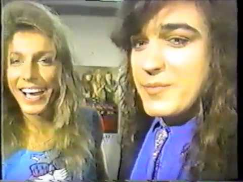 RARE Stryper interview on Japanese Television 1989