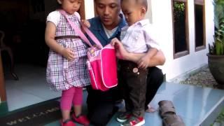 Harraz, Amel dan ayah di Bandung