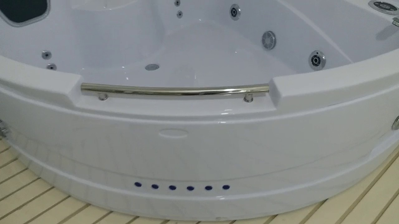 Two Person Hot Spa Tub SWG-008 - YouTube