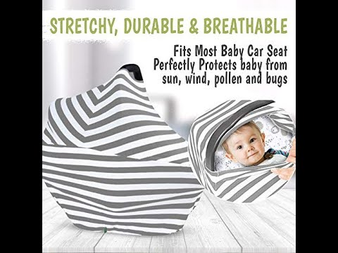 Cool Beans Baby, Car Seat Canopy | Breastfeeding Nursing Cover