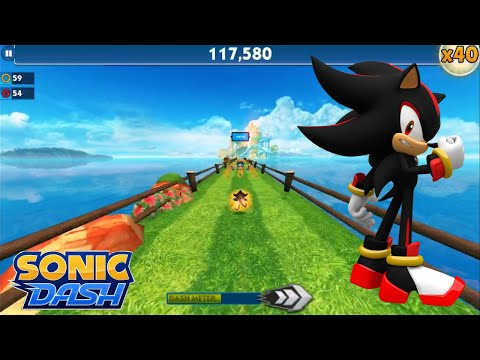Sonic Dash (iOS) - Shadow Gameplay