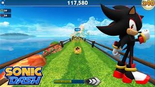 Sonic Dash (iOS) - Shadow Gameplay