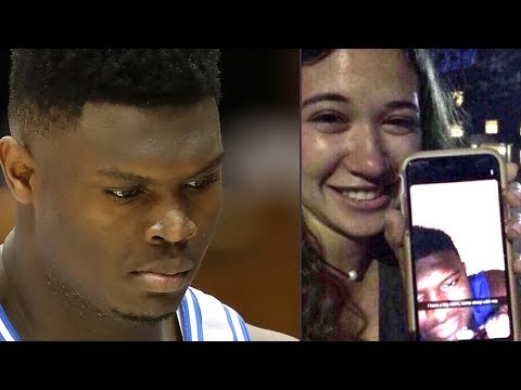 Zion Williamson CAUGHT Sending THIRSTY Snapchat Trying To Get UNC Girl Into His Bedroom!
