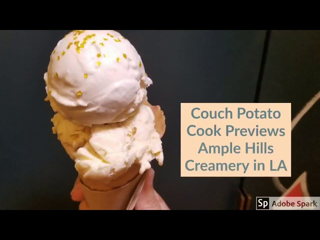 Previewing Ample Hills Creamery LA | CouchPotatoCook.com