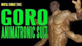 MORTAL KOMBAT- 'Goro' Animatronic Suit With Lip Synch