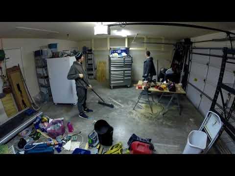 20171223 Garage shelves