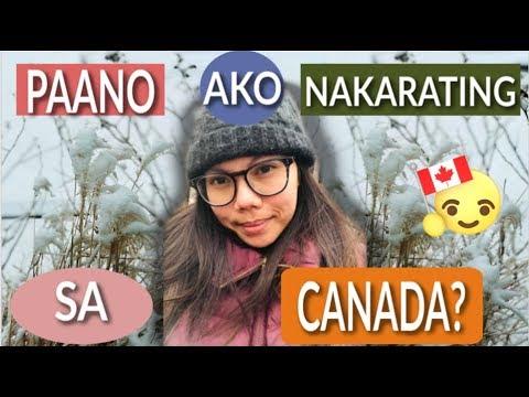 PAANO AKO NAKARATING SA CANADA? (SPOUSAL SPONSORSHIP)| BUHAY SA CANADA VLOGS|