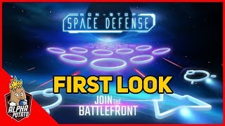 Non Stop Space Defense - Infinite Aliens Shooter Android Gameplay First Look