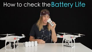 DJI Phantom - How To Check Battery's Life | MicBergsma